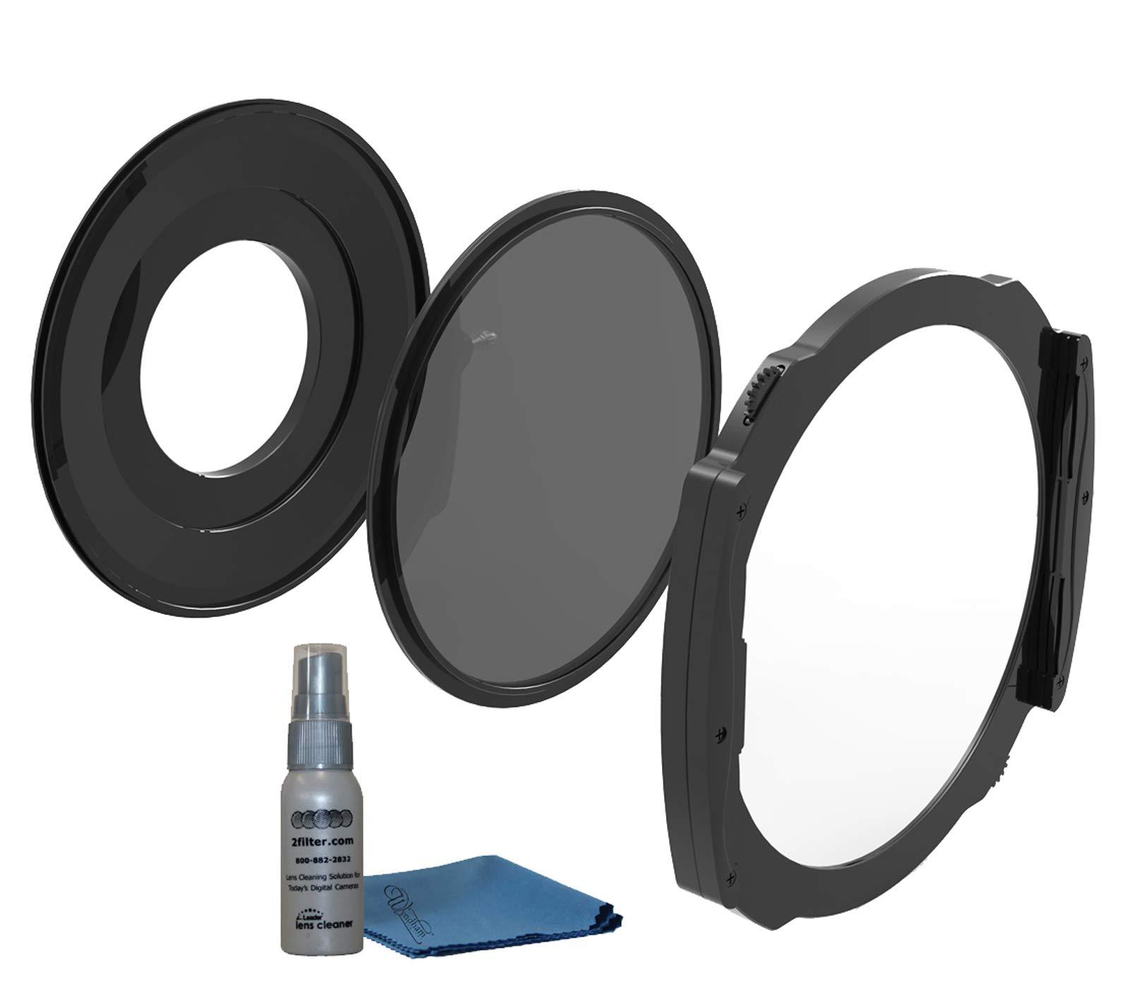 Haida M15 Filter Holder System for Nikon 14-24mm f/2.8G ED Lens 150mm Filter System and M15 Circular Polarizer by Haida