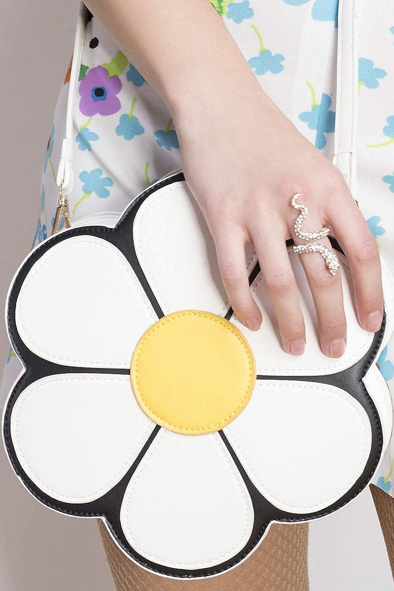Rich Fashion Daisy Shaped Cross Body Bag