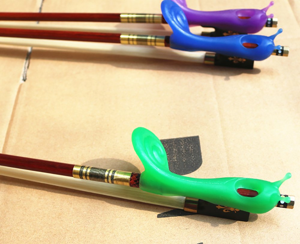 Yinfente Bow Holder Hold Buddies Violin/Viola Bow Teaching Aid Violin Accessories (blue)