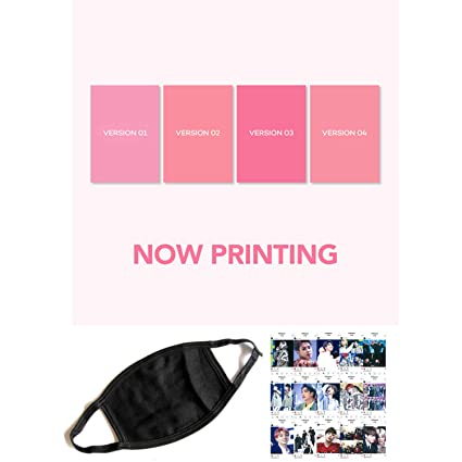 BTS Bangtan MAP of The Soul Persona [Random ver] - Extra Gift Kpop Fashion  Idol Mask, Instagram Photocards 1 CD 76p Photobook 20p Mini Book 1