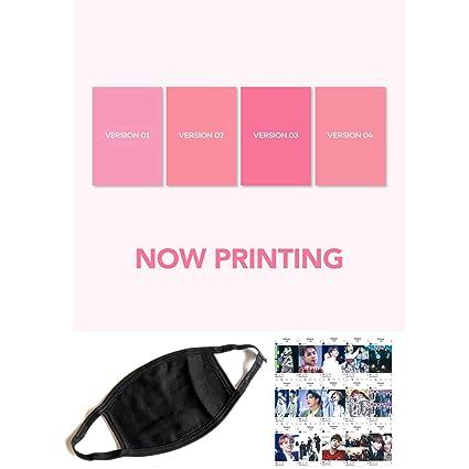 BTS Bangtan MAP of The Soul Persona [Random ver] - Extra Gift Kpop Fashion  Idol Mask, Instagram Photocards 1 CD 76p Photobook 20p Mini Book 1