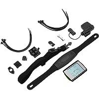 BC235 Professionnel sans Fil Multifonction Étanche LCD Écran LCD Compteur De Vélo Compteur De Vitesse Cardiofréquencemètre Gris Et Noir