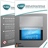 "2 x Slabo Displayschutzfolie TrekStor SurfTab breeze 9.6 quad Displayschutz Schutzfolie Folie ""No Reflexion