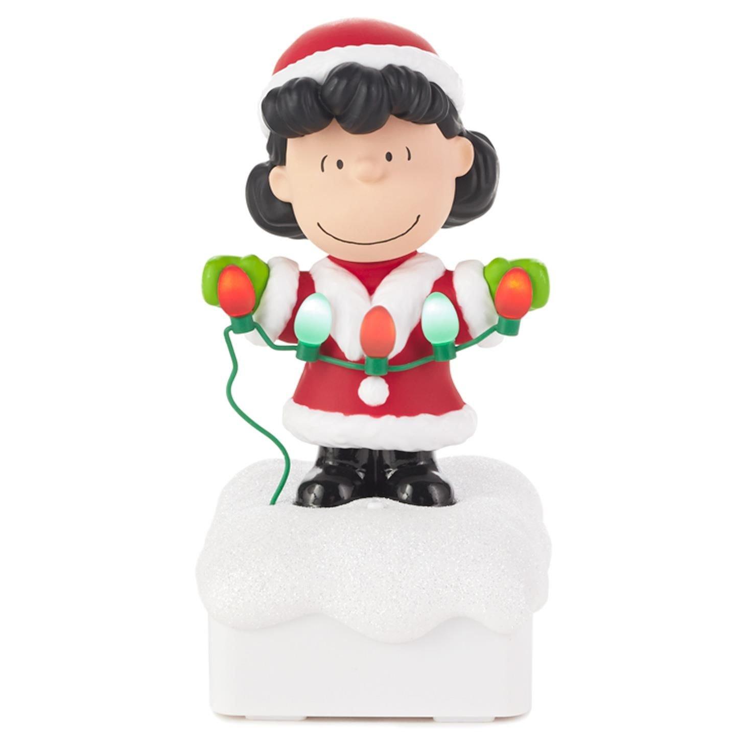 Amazon.com: Hallmark Lucy Peanuts® Gang Christmas Light Show: Home ...