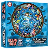 Round Table Puzzle - Ocean View (500 Piece)