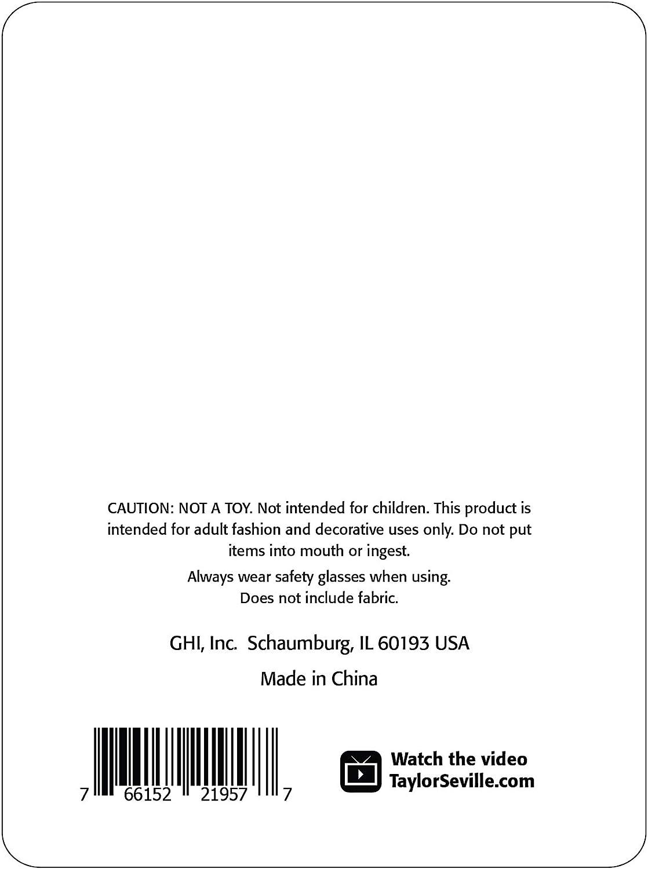 Taylor Seville Magic Pins Quilting FEIN 0,5 x 48 mm Packungsgr/ö/ße 100 St/ück