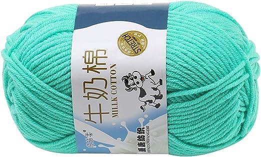 RainBabe ovillos de Lana algodón Gruesa para Tejer ...
