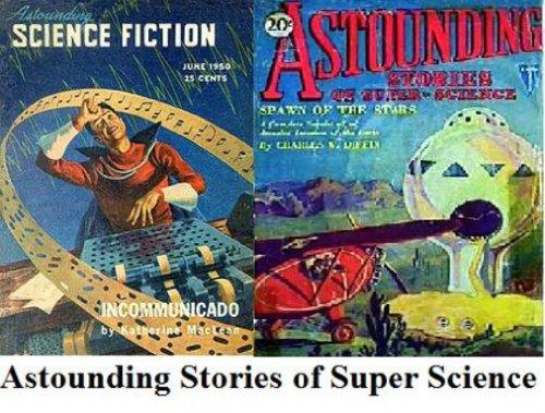 Illustrated Astounding Stories of Super Science January PLUS Astounding Stories of Suer Science February 1930