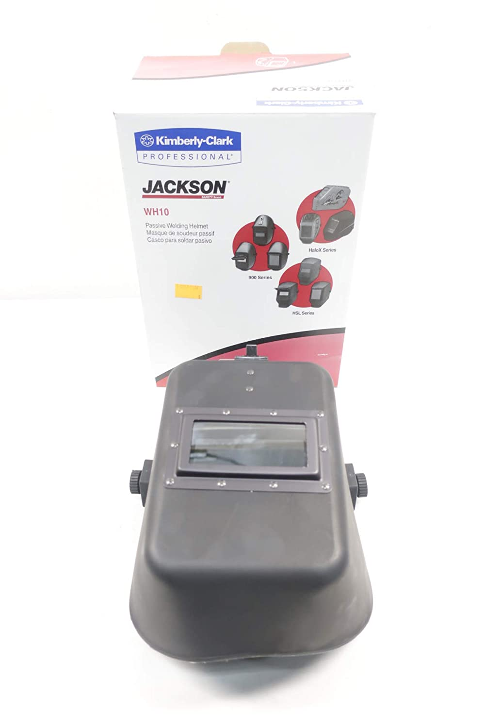 JACKSON 14536 WH10 990P Quick Slide Front Passive Welding Helmet D663868: Amazon.com: Industrial & Scientific