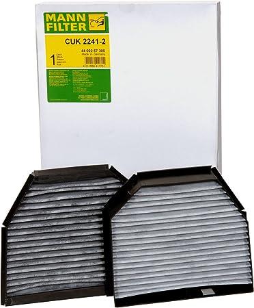 Mann Filter CUK 2241-2 Filter Innenraumluft
