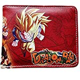 Anime Dragonball Z Men's Boys Bi-fold Wallet with Gift Box