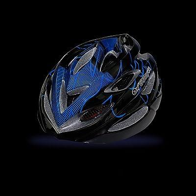 220g Poids ultra léger - Casque de vélo, Casque de vélo sport réglable Casques de vélo pour vélo et VTT, Moto pour hommes et femmes adultes, Jeunes - Course, Protection de la sé