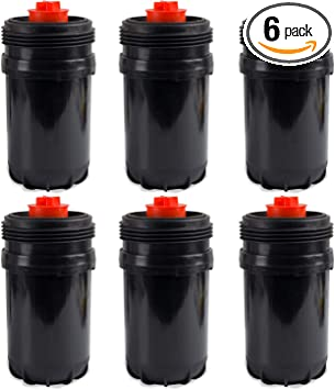 6pcs FF63009 Fuel Filter for Cummins 5303743 Replaces FF63008 Element FH22168