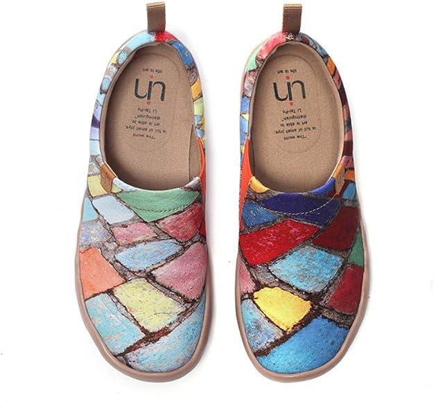 Art Sneaker Painted Canvas Slip