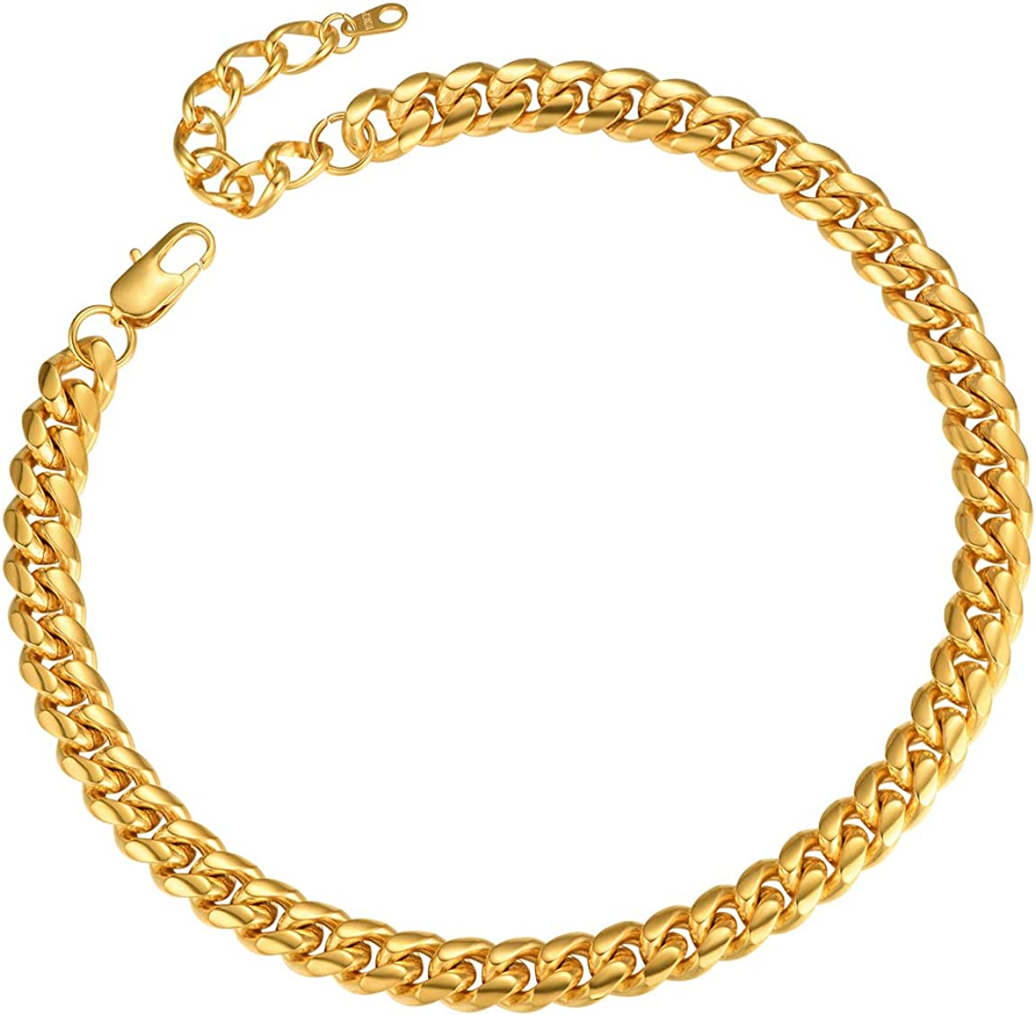 18//20//22//24//26//28//30inch Length /… ChainsPro Men Chunky Miami Cuban Chain Necklace with Gift Box Custom Available 6//9//14mm Width Gold//Steel//Black