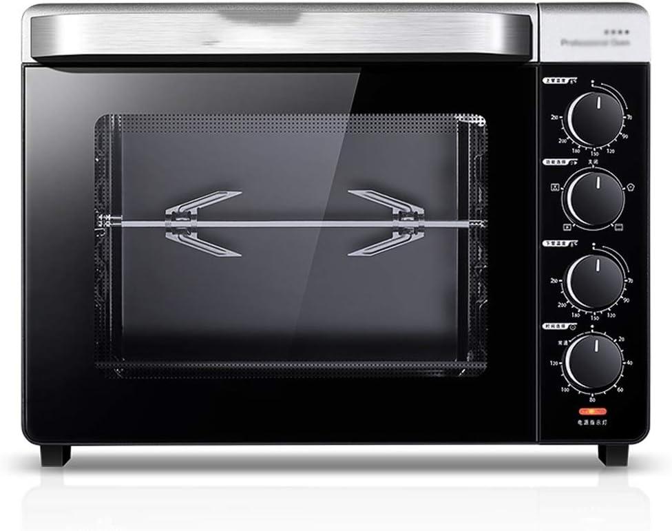Sándwich tostadora, recubrimiento anti-adherente y antideslizante Esmalte del horno for hornear en casa pequeñas gente perezosa eléctrica del horno 32 litros de gran capacidad completamente automático