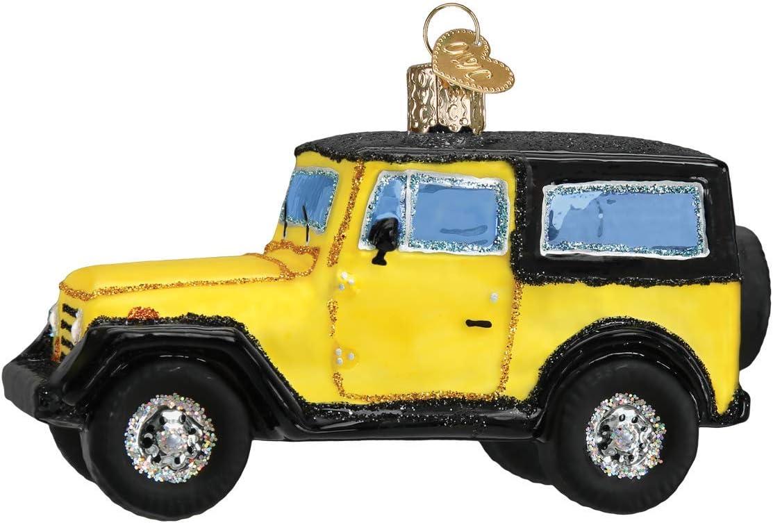 Old World Christmas Sport Utility Vehicle Ornament, Multi