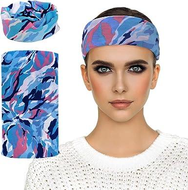 Wide Headband  PURPLE Headband  Multi-functional Headband  Neck warmer  Wide Yoga Gym Headband