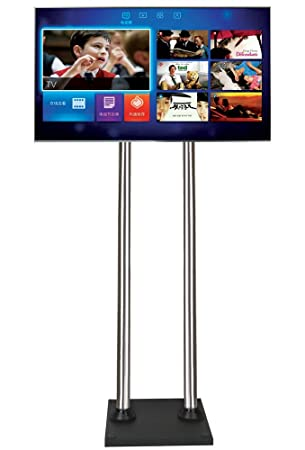 Allcam FS40BD Floor Stand With Mounting Bracket For All Screens Interesting Exhibition Tv Display Stands