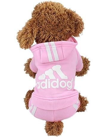 0685e0c5ddbfe1 Idepet TM Adidog Pet Dog Cat Clothes 4 Legs Cotton Puppy Hoodies Coat  Sweater Costumes Dog