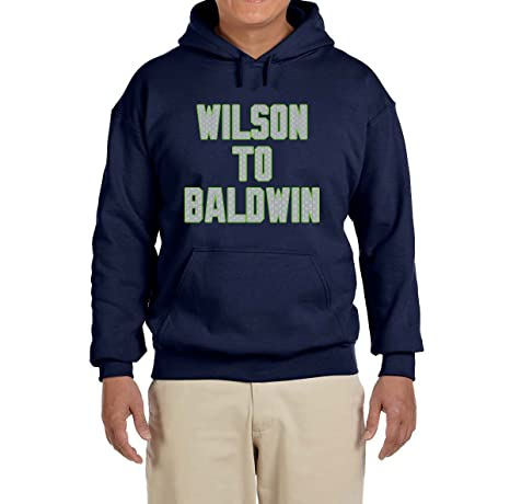 new style a38c5 4081a Amazon.com : Tobin Clothing Navy Seattle Wilson to Baldwin ...