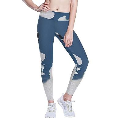 LUPINZ - Pantalones de Yoga para niña con diseño de ángel y ...