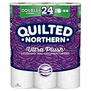 Ratings and reviews for Quilted Northern Ultra Plush Toilet Paper, Pack of 12 Double Rolls, Equivalent to 24 Regular Rolls-Packaging May Vary