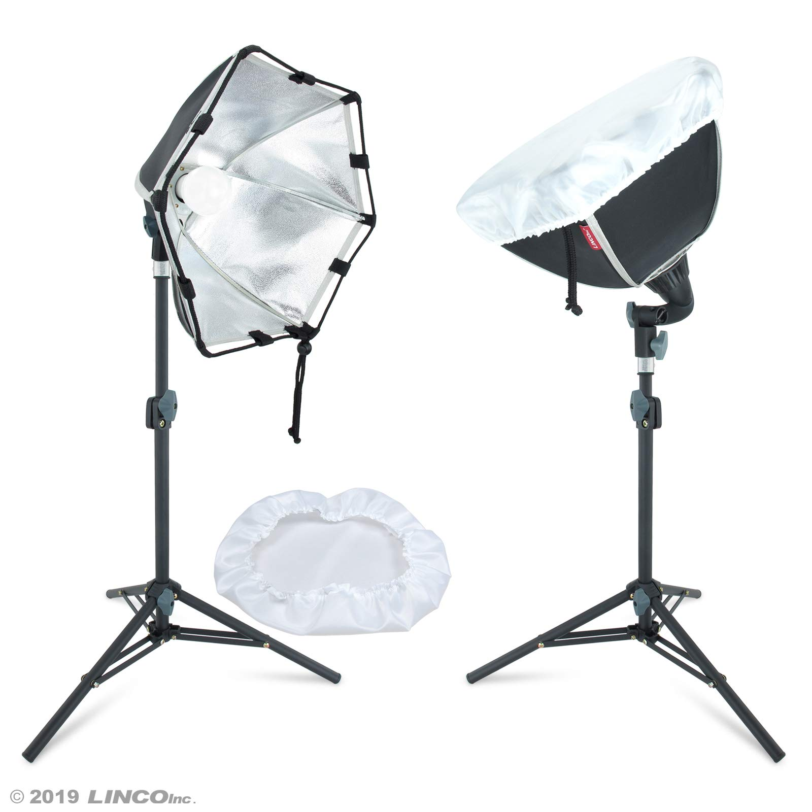 Linco Lincostore Photography Photo Table Top Studio Lighting Kit- 30 Seconds to Storage by Linco