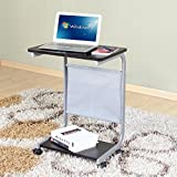Bedside Small Table Laptop Desk Floor Style Rotate Mobile Learning Table Workbench