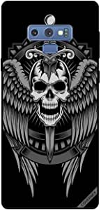 Case For Samsung Galaxy Note 9 - Skull Have Eagle Wings
