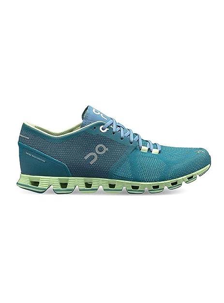Zapatillas On Running Cloud X Storm Willow Mujer 37 Azul: Amazon.es: Zapatos y complementos