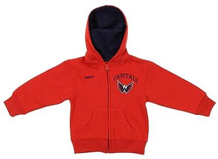Amazon.com  NHL Toddler s Washington Capitals Pledge Full Zip Hoodie ... ec0bc8a89
