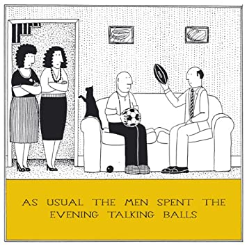 Talking Balls Funny Fred Birthday Card Rupert Fawcett Humour Greeting Cards