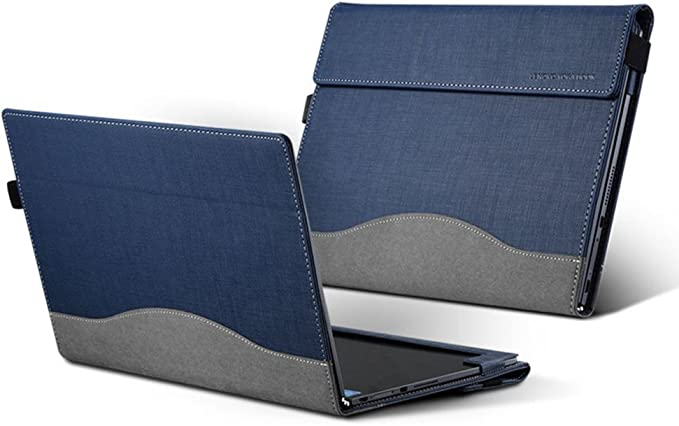 Amazon.com: for Lenovo Yoga Book Case, PU Leather Folio ...