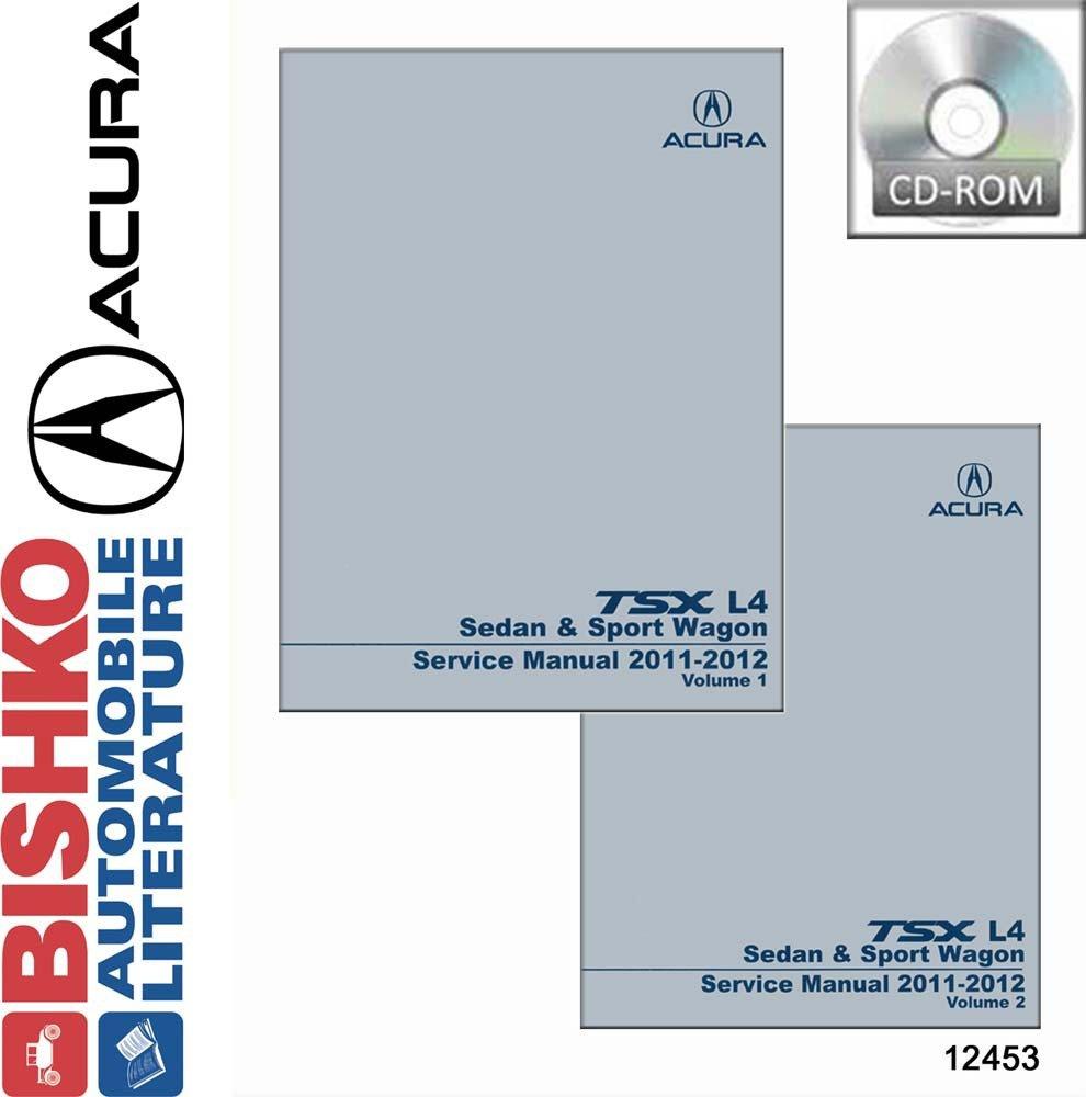 Amazon.com: 2011 2012 Acura TSX L4 SEDAN & SPORT WAGON Shop Service Repair  Manual CD OEM: Automotive