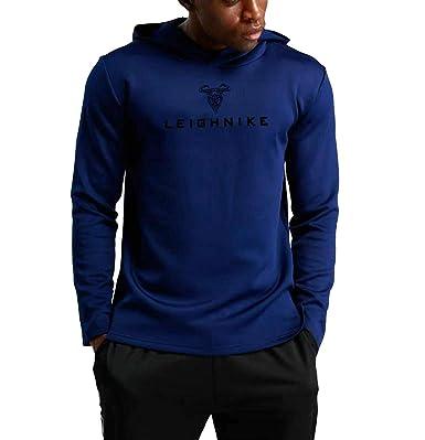82cea0fac1c84 Change スポーツプルオーバー スウェットパーカー ランニングウェア トレーニングパーカー [メンズ] 【ブルー、