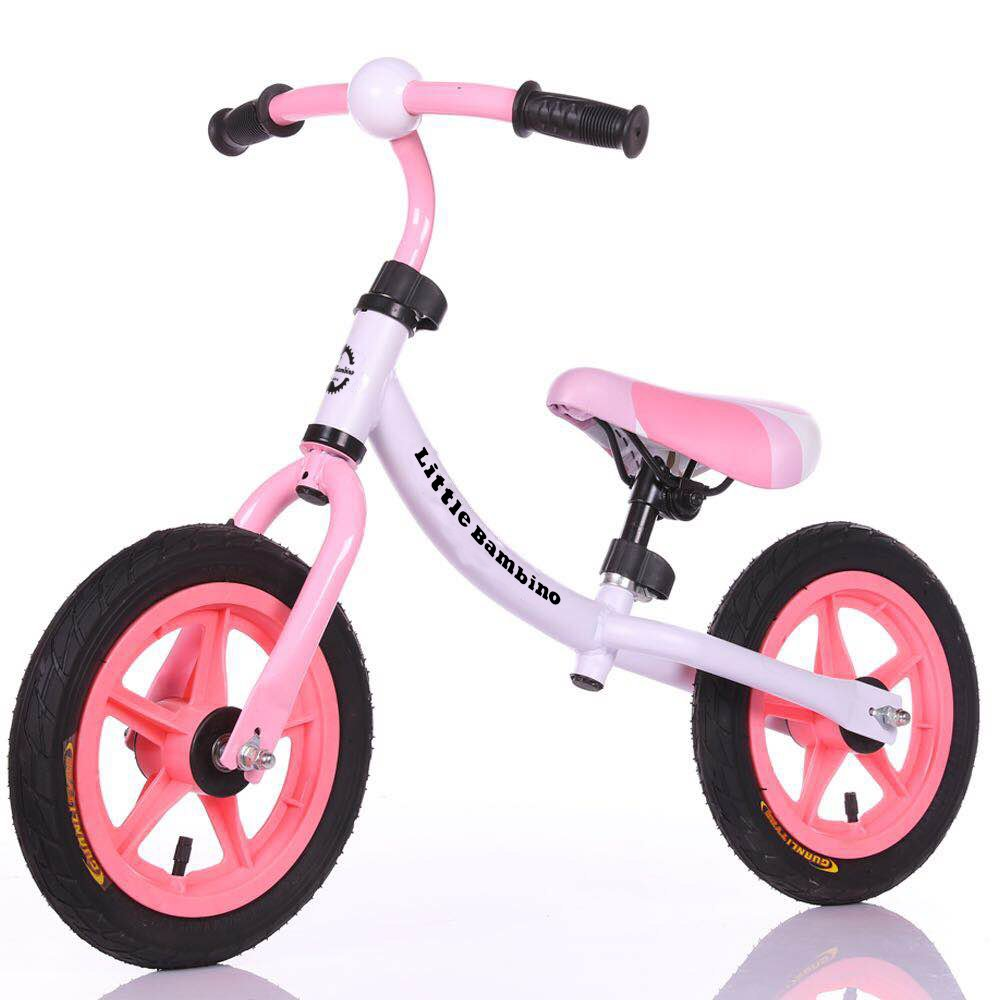 Little Bambino Kids' Balance Bike | Training Bicycle for Children and Toddlers Aged 2 Years to 6 Years | Durable Rubber Wheels | Lightweight Steel Frame