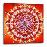 3dRose dpp_193591_3 Root Chakra-Wall Clock, 15 by 15-Inch