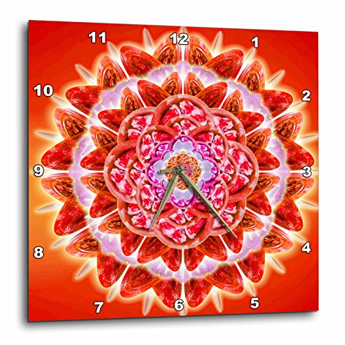 3dRose dpp_193591_3 Root Chakra-Wall Clock, 15 by 15-Inch by 3dRose