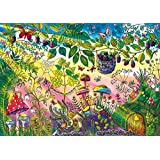 Buffalo Games Morning Magic Jigsaw Puzzle featuring The work of Johanna Basford, 500 Piece