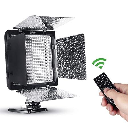 Cámara fotográfica con luz Cámara de luz LED Luz de Relleno Cámara ...