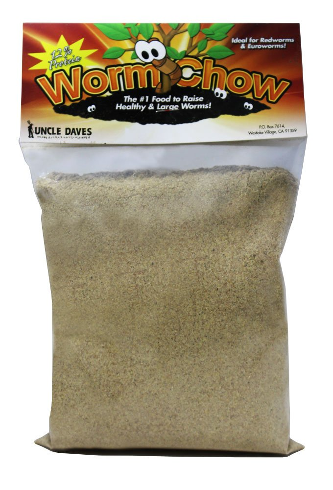 Uncle Daves Worm Chow- 1 Pound Bag