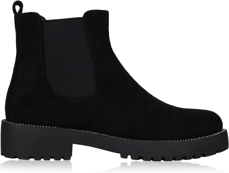 Bester Kauf Klassisch Modestil SCARPE VITA Damen Stiefeletten Chelsea Boots mit Blockabsatz Ketten Schwarz Schwarz Black slze6 jFd5h 7Hppv