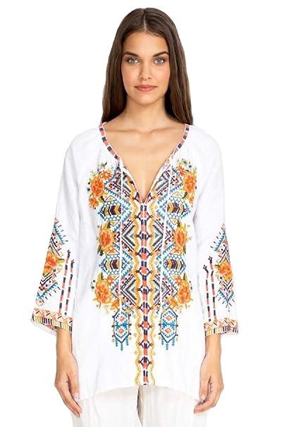 Amazon.com: Johnny J10719-3 - Blusa para campesinos: Clothing