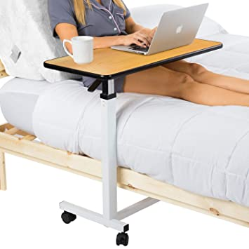 Amazon.com: Vive - Mesa de noche para hospital, bandeja ...