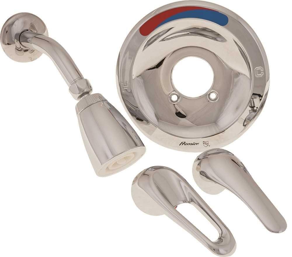 Premier Faucet 120939 Pro Pak Shower Trim Kit, Loop/Lever Handle
