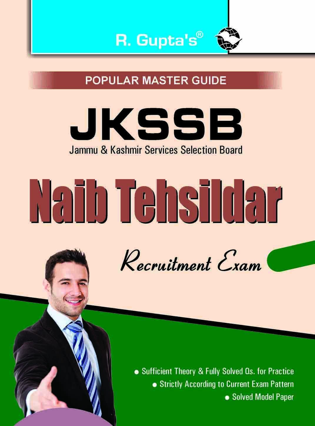 JKSSB Naib Tehsildar Junior Assistant Account Assistant Etc