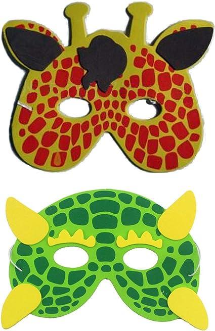eva Soft Foam Children/'s Giraffe Mask for Fancy Dress