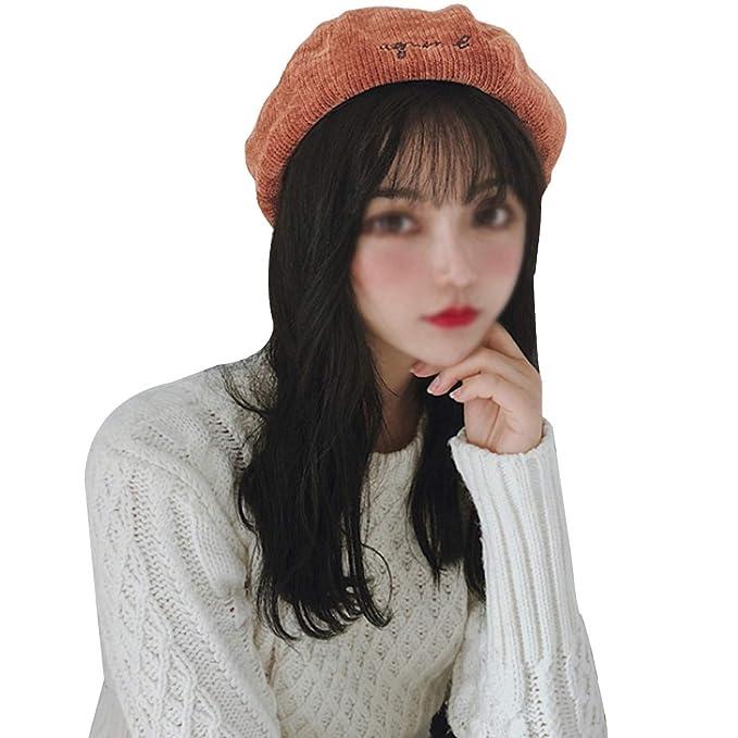 Meliya - Gorro de Punto - para Mujer Caramel Colour Talla única  Amazon.es   Ropa y accesorios 21e0c68a436