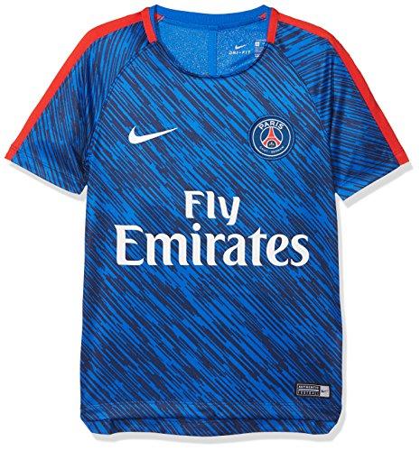 Dri germain Saint Nike Garçon fit Paris Bleu Squad De Football Haut 4UHwqpHOW